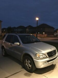 2002 MERCEDES ML320 SAFETY & ETEST INCLUDED