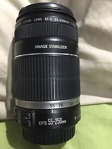 Canon EFS 55-250mm Telephoto Lens Leanyer Darwin City Preview