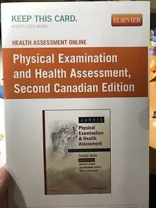 Physical examination and health assessment online access code