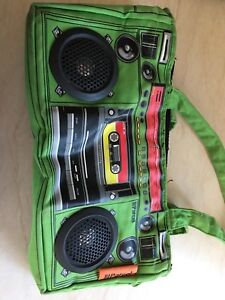 Purse with speakers