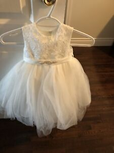 Flower girl dress with bolero jacket