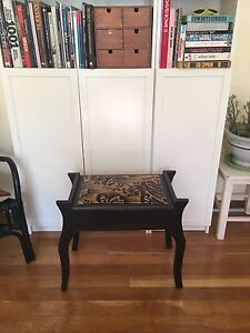 Antique Handmade Piano Stool with storage. Fremantle Fremantle Area Preview