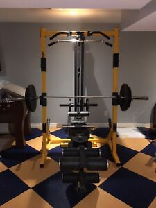 POWERTEC Exercise Equipment / Gym with Weights