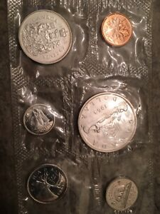 1963 Canadian coin set