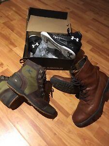 Under Armour,Sorel and Aldo shoes