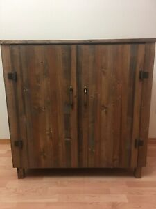 Handmade coffee table/cabinet