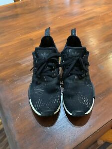 NMD r1 green black men's 13 US