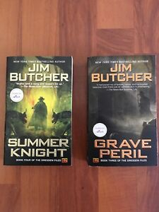 Summer Night & Grave Peril. Two novels from the Dresden Files