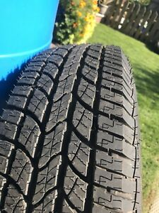 225/75/R16 tire with rim
