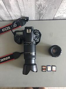 CANON 60D + 55-250mm + 50mm AND MORE!!! ENGLISH/ FRANCAIS