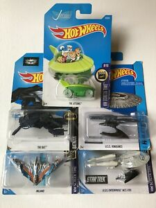 Hot Wheels Spaceship Collection
