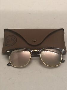 Ray-Ban Rose Gold Clubmaster