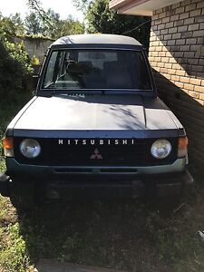 1985 Mitsubishi Pajero turbo diesel Bellbird Park Ipswich City Preview