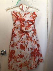 Summer Dress With Removable Straps, Size L