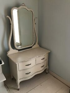 Antique White Dresser for Sale - Only $75!