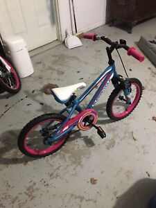 """Supercycle Valley 16"""" child's bike with kick stand $100 OBO"""