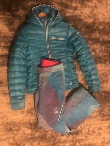 Spyder Thrill ladies ski pant & down jacket