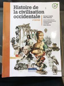 Livre de Cégep - Histoire de la civilisation occidentale