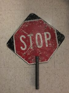 Real stop sign