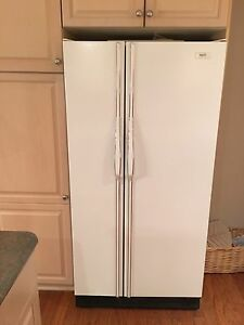 Inglis fridge and stove (white) - $750 for the pair