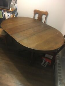 **Antique Dining Room Table**