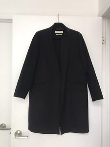 Zara Wool Coat - size L (fits like a M)