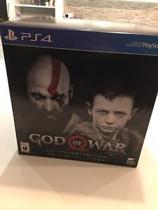 God of War Collector's edition PS4 Neuf New Sealed