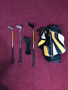 Maxfli Kids Golf Set - 3 Clubs with Bag