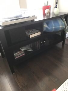 Wood TV Stand Table Furniture Storage Entertainment Unit