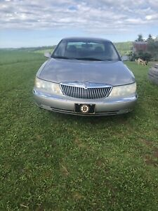 2001 Lincoln Continential