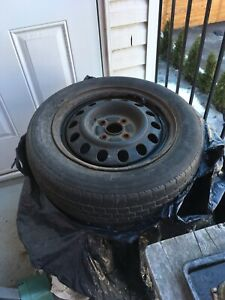 4 summer tires on rims - Toyota Corolla