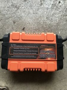 MotoMaster Motorcycle Car Battery Charger maintainer