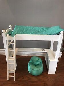 American Girl Loft bed