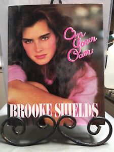 Brooke Shields - On Your Own (c) '85 / autographed book