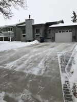 Residential Snow Clearing - $100/month - Unlimited visits