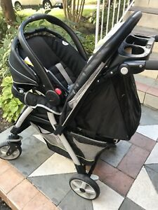 Graco click connect 35 infant car seat, stroller and car base