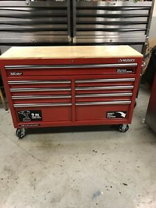 """52"""" Red Husky Heavy Duty Tool box Limited Edition"""