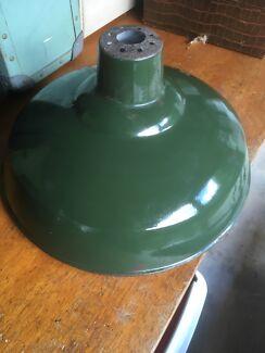 Retro vintage industrial pendant lampshade