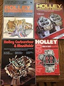 Holley Carburetor and Miscellaneous Automotive Books