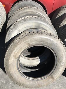 2 sets of 4 Michelin x-ice tires - 245/70R17