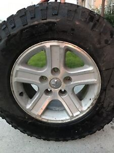 Dodge Ram 17 inch rims and tires