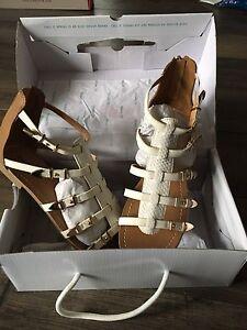 Brand New in Box gladiator sandals