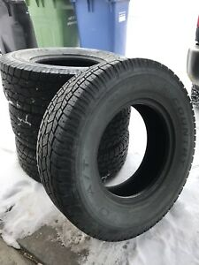 4 Toyo Open Country A/T M+S Tires LT245/75R16