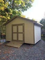 Quality built sheds