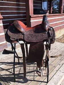 "14.5"" CC Elite Roping Saddle REDUCED"