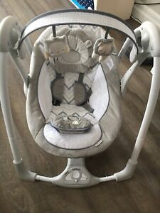Baby swing and bouncer (ingenuity) $175 for both items