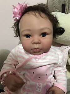 Reborn Baby Girl Lifelike Doll fake baby Docklands Melbourne City Preview