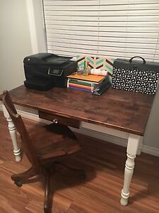 Rustic Farmhouse Style Desk and Chair