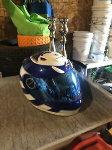 Scorpion motorcycle helmet