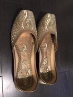 Handcrafted Indian Shoes - Brand New-$35